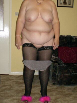 matures in stockings
